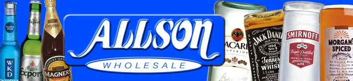 Allson Wholesale Drink Distributor