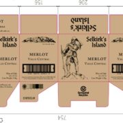 Packaging Specification (Case of 18.7cl Merlot)